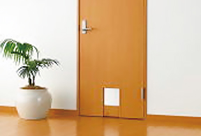 部屋を自由に行き来が出来る 室内ドア